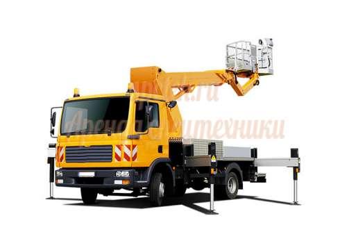 Автовышка Заказ подъёмника Mitsubishi Canter от 12 до 45 метров